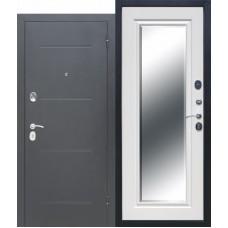 Входная дверь Ferroni Garda Серебро Зеркало Фацет