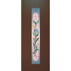 """Межкомнатная дверь Леском Тип 8 """"Цветок"""" ДО"""